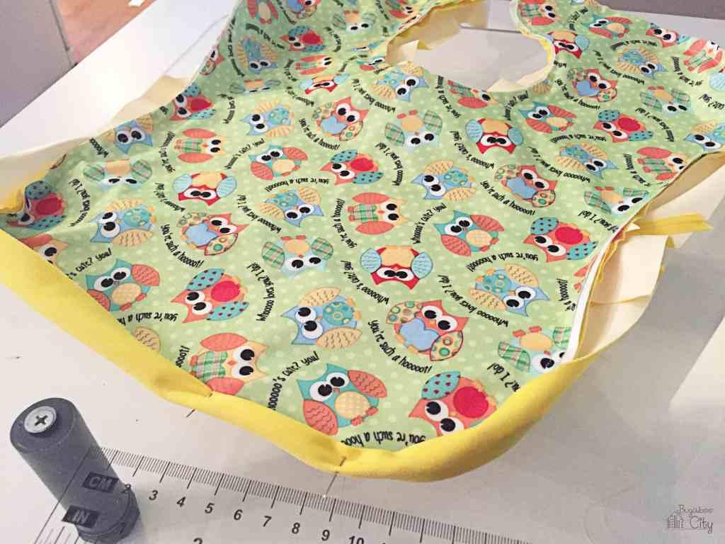 DIY Waterproof Baby Bib 10