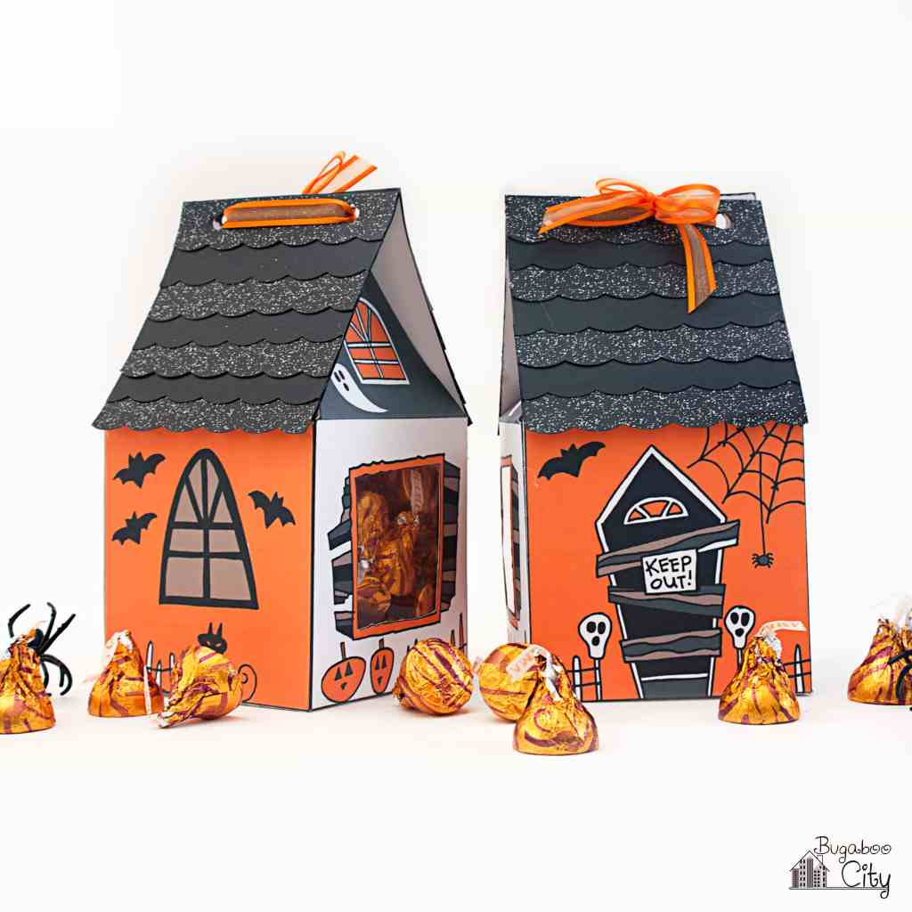 Halloween Haunted House Treat Box