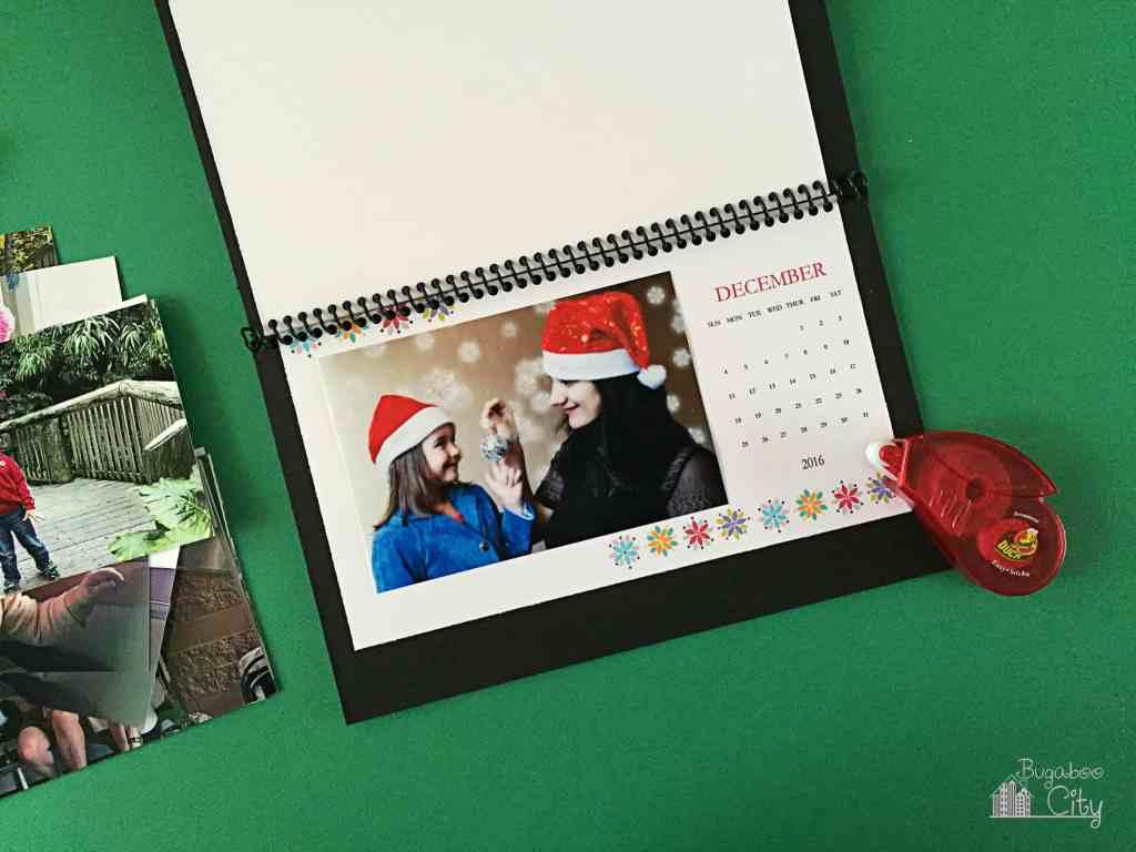 DIY Desktop Calendar 2016 1
