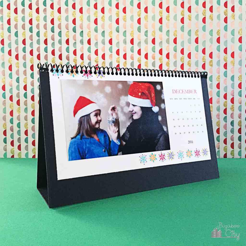 DIY Desktop Calendar 2016 6