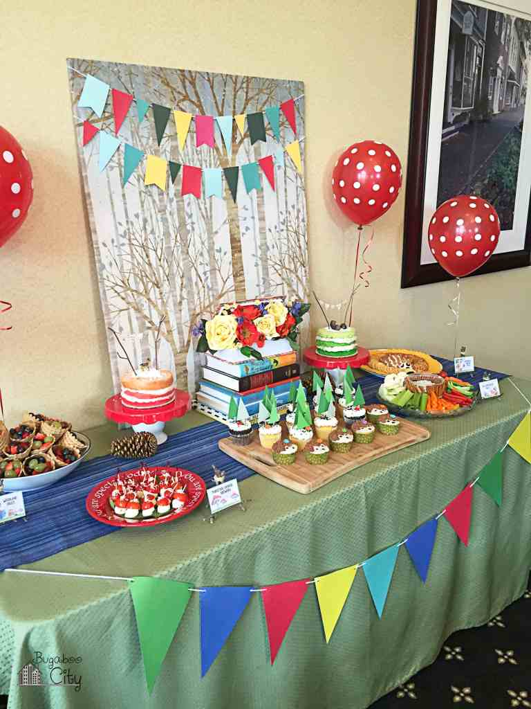 Woodland Animal Birthday Party