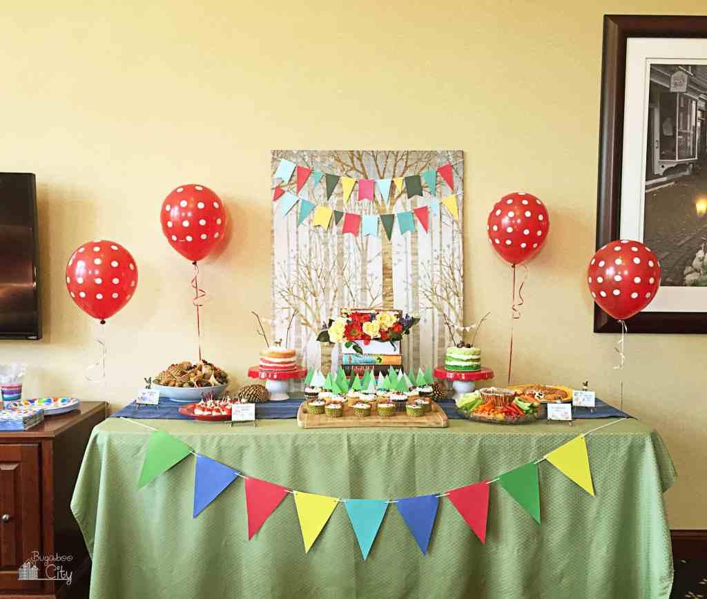 Woodland Animal Birthday Party