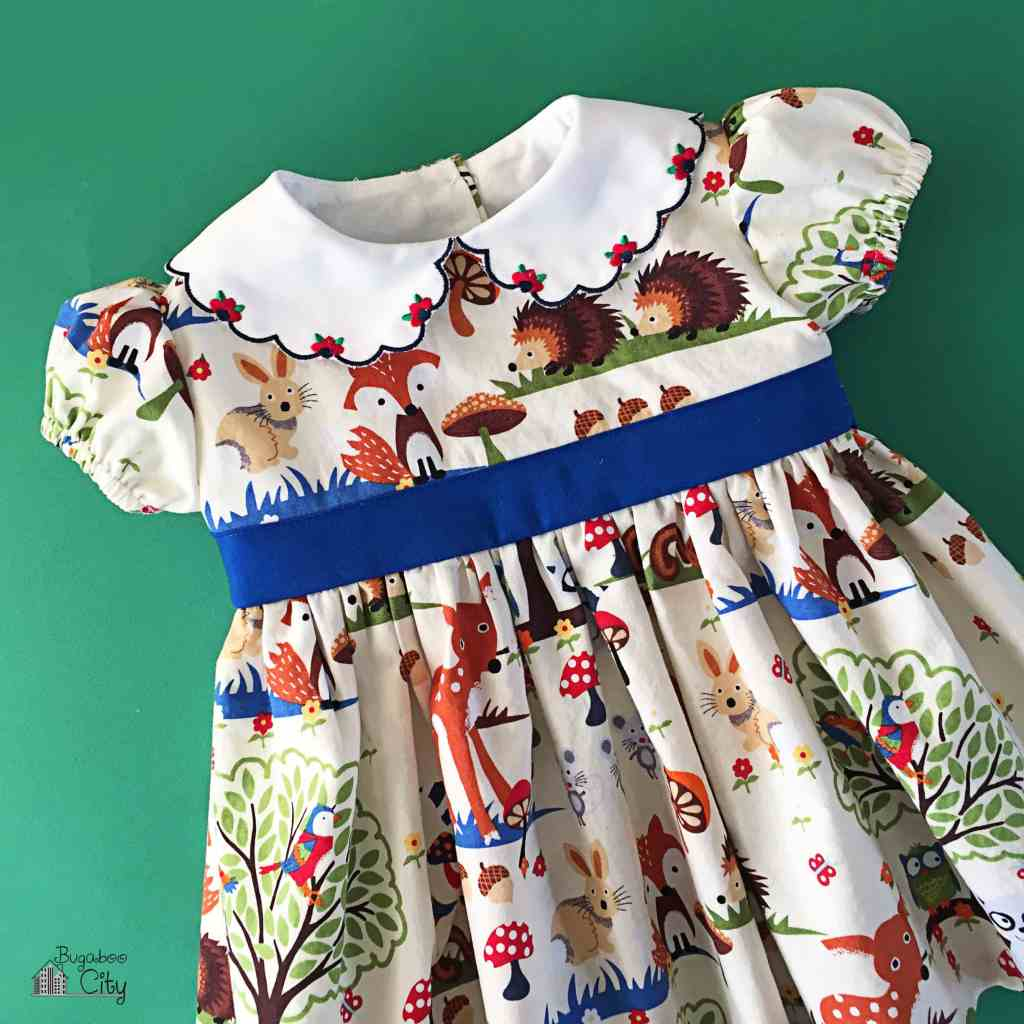 Woodland Animal Party Dress 2