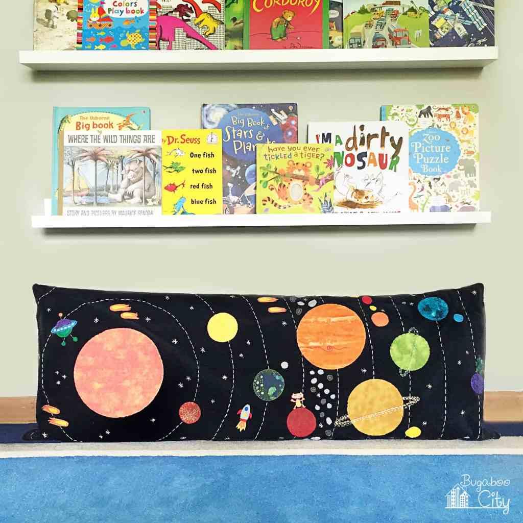 Solar System Space Pillow Bugaboocity