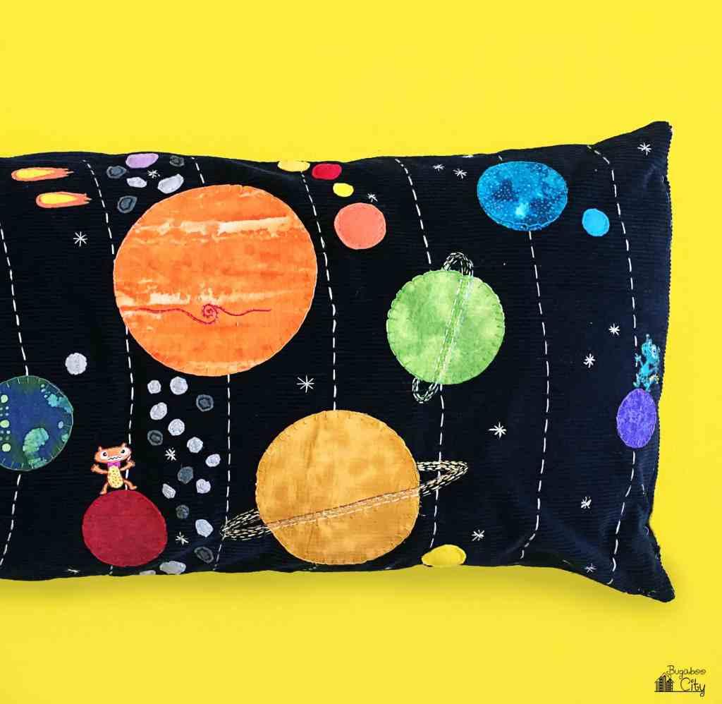DIY Space Solar System Pillow