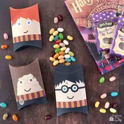 Harry Potter Pillow Boxes
