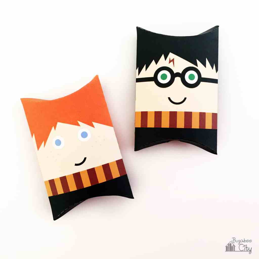 Harry Potter Pillowbox and party favors