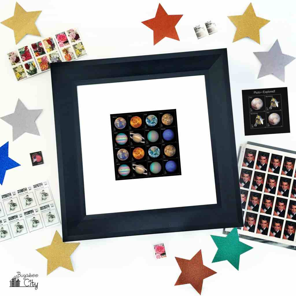 Stamp Art Collectible