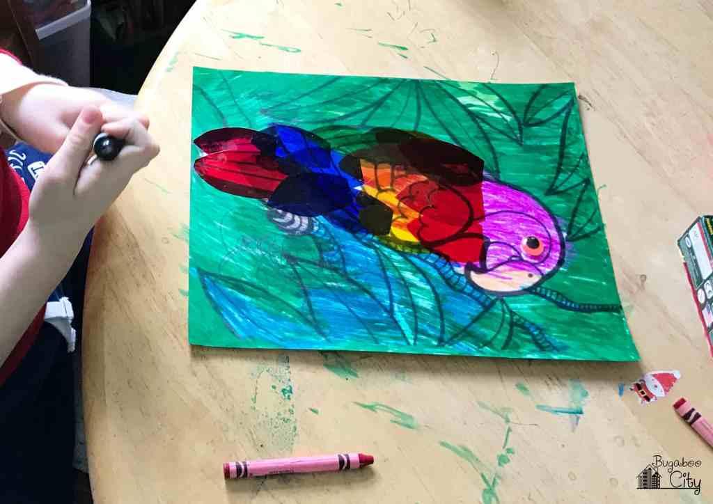Rainforest Parrot Craft