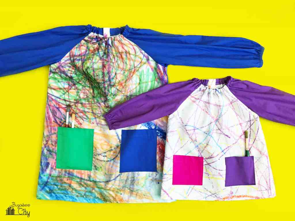 DIY Children's Art Smock