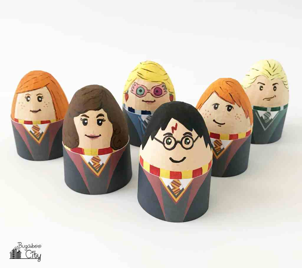 Harry Potter DIY Easter Eggs with Free Printable