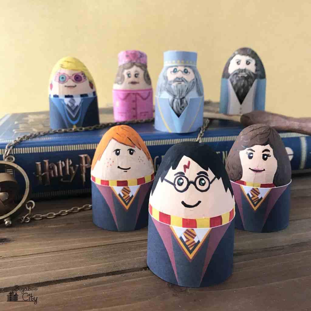 Harry Potter Easter Eggs BugabooCity Free Printable Egg Holders
