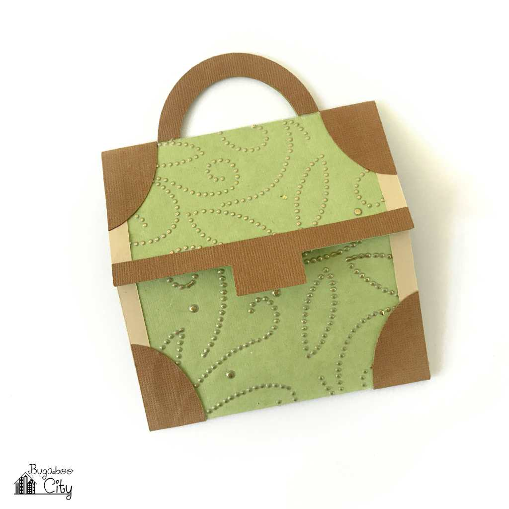 Travel Themed Suitcase Card and Invitation