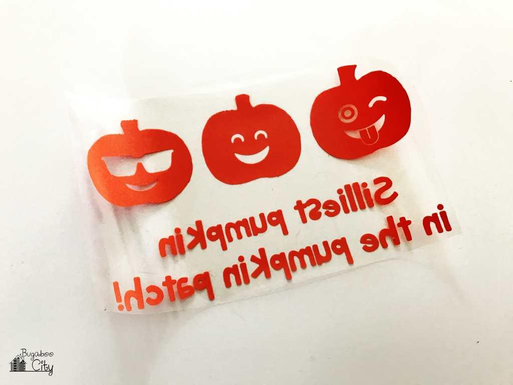 DIY Iron-On Halloween Shirts - Free SVG Cut Files
