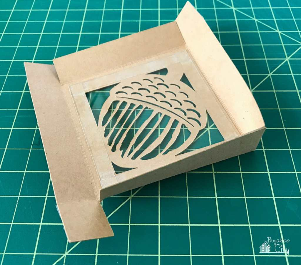 DIY Autumn Treat Boxes with free SVG Cut File
