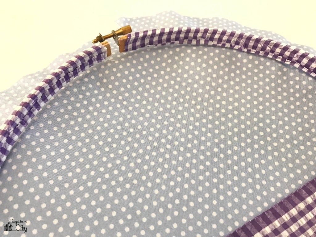 Easter Bunny Embroidery Hoop Art - Free Pattern - BugabooCity