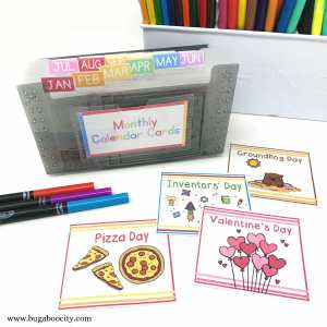 Organizing Your Children's Calendar – Free Printable Labels