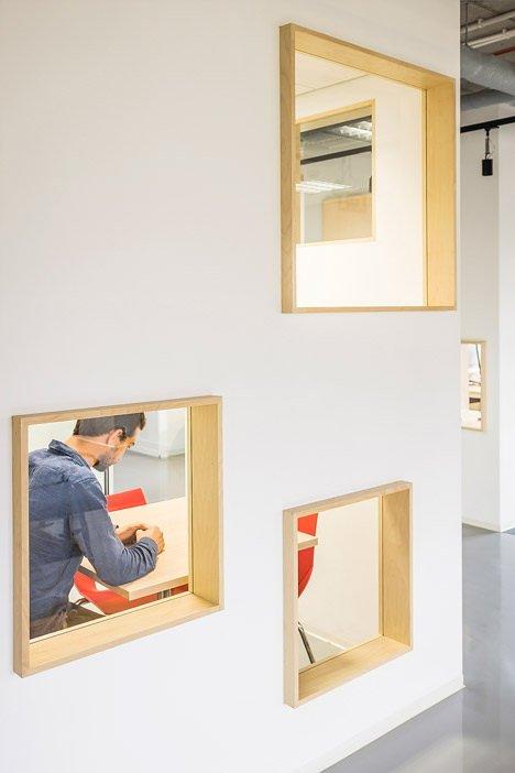 Нескучные офисные пространства для работы в удовольствие (32 фото)