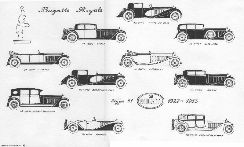 the Bugatti revue contest 2002: Drawings!
