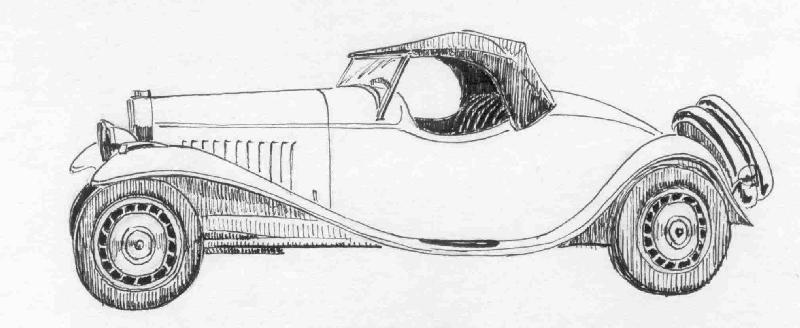 the Bugatti revue contest 2002: Drawings!