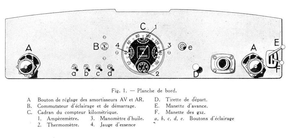 the Bugatti revue, 13-4, Bugatti T57 / T57C maintenance manual