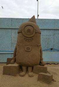 Sand sculpture festival Weston-Super-Mare 2015