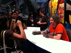 Me at San Diego ComicCon 2011