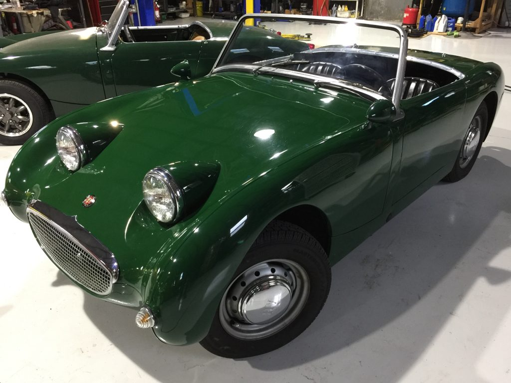 Electrical Modifications For A Bugeye Sprite