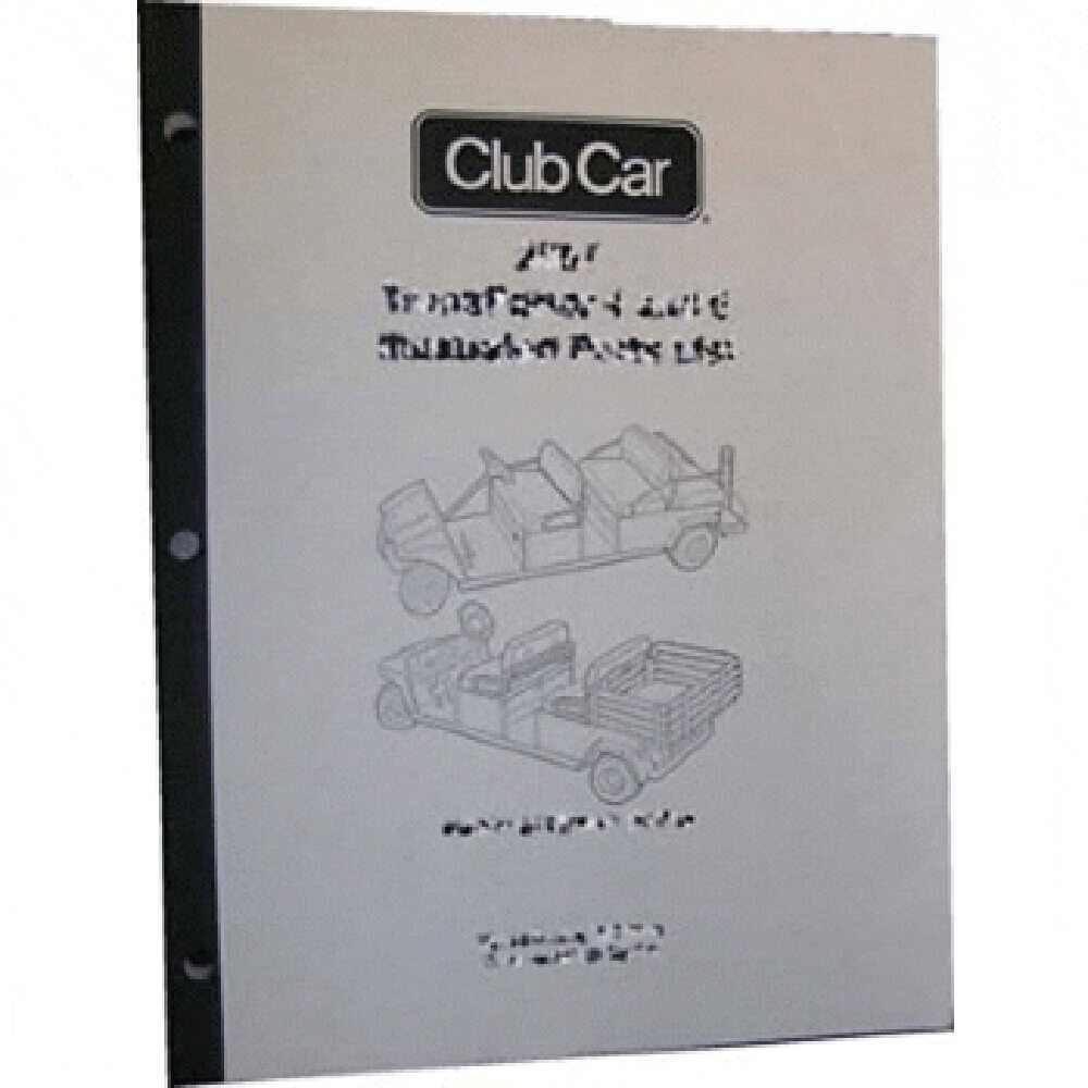 hight resolution of club car carry all part diagram