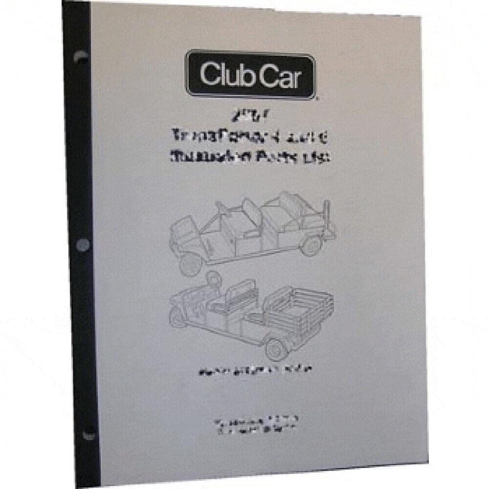 hight resolution of club car precedent part diagram