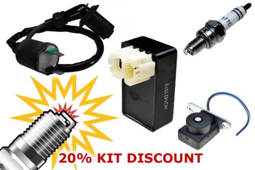 small resolution of ac ignition tune up kit cdi coil spark plug sensor