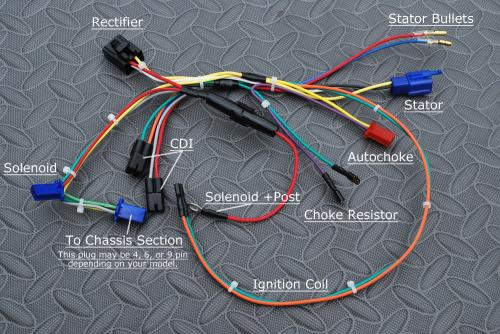 Ignition Switch Wiring Diagram On Tail Light Wiring For Golf Cart