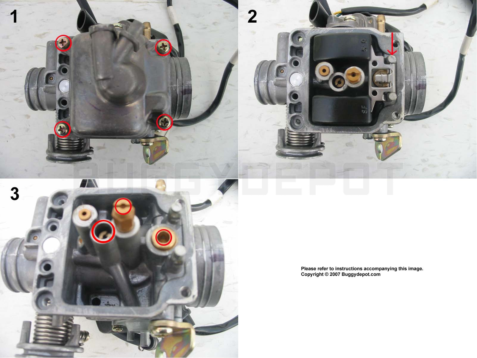 hight resolution of 150cc gy6 carburetor cleaning guide buggy depot technical center rh buggydepot com gy6 150cc carburetor diagram gy6 carburetor diagram