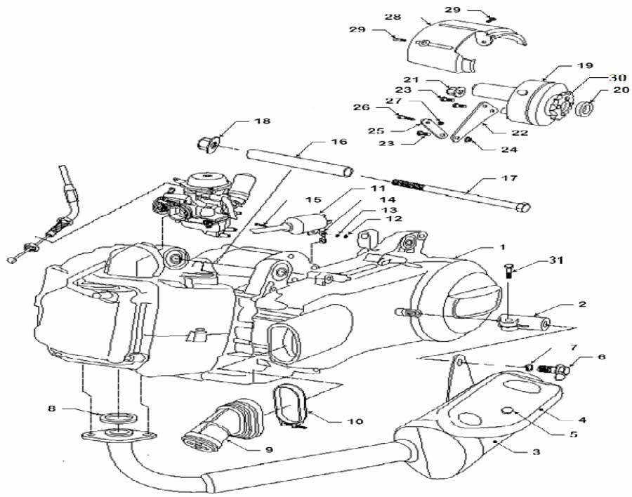 Baja Motorsports Dune 150 Wiring Harness : 40 Wiring