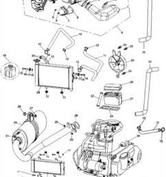 hammerhead 250ss super sport air cleaner radiator battery muffler assembly [ 873 x 1251 Pixel ]