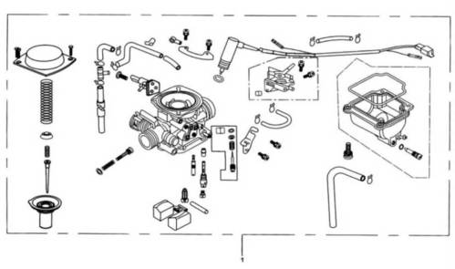 small resolution of baja reaction 250 carburetor