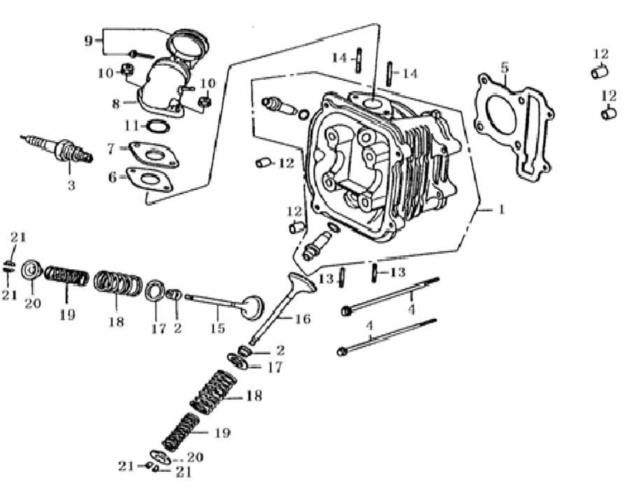 Wiring Diagram Database: Baja Motorsports Dune 150 Wiring