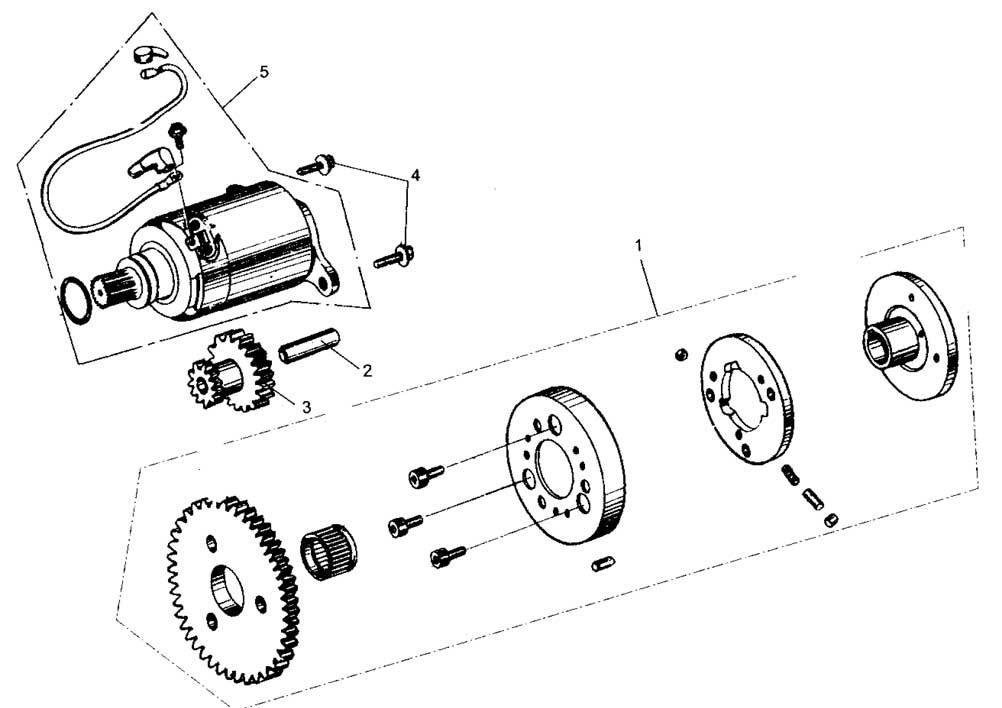Hammerhead GL150 Electric Starter