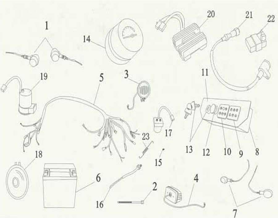 Dune Buggy Ignition Wiring Diagram