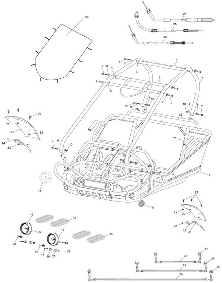 Hammerhead Gts 250 Wiring Diagram Hammerhead 250 Go Cart