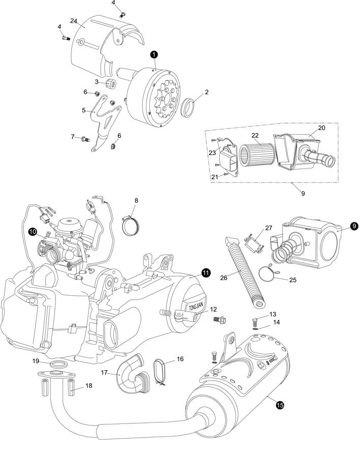 Hammerhead Twister 150cc Parts. Diagram. Auto Wiring Diagram