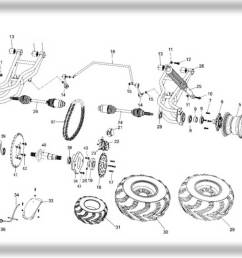 hammerhead 250ss super sport rear suspension assembly [ 1163 x 873 Pixel ]