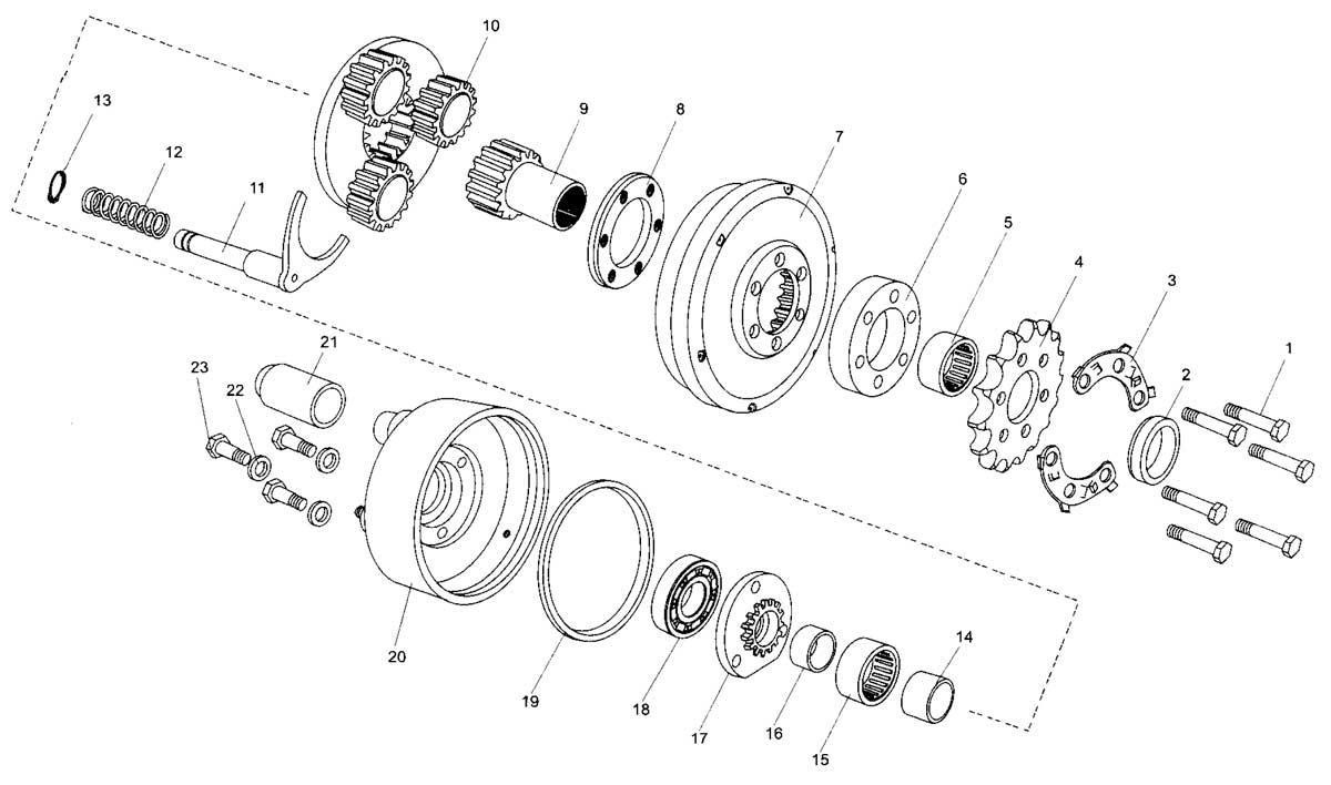 hight resolution of hammerhead 150cc reverse assembly