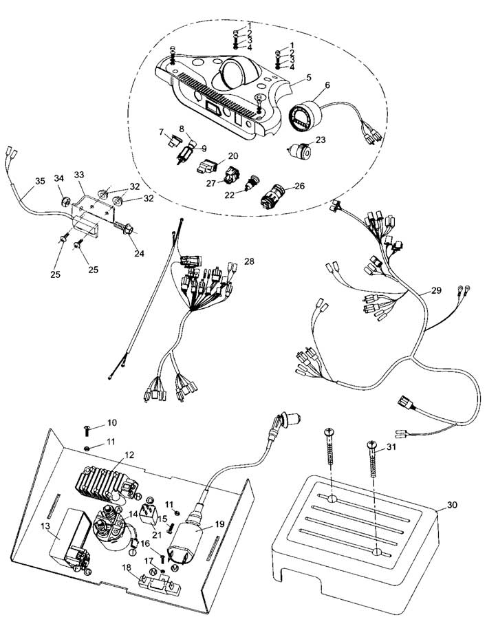 hammerhead 150 wiring harness diagram