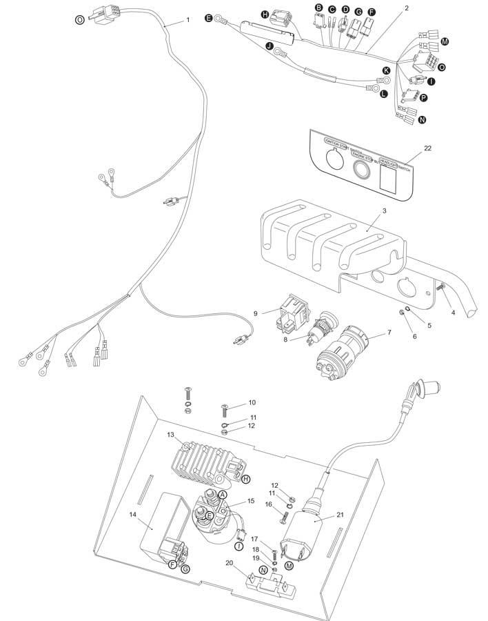 Hammerhead 150 Wiring Harness Diagram