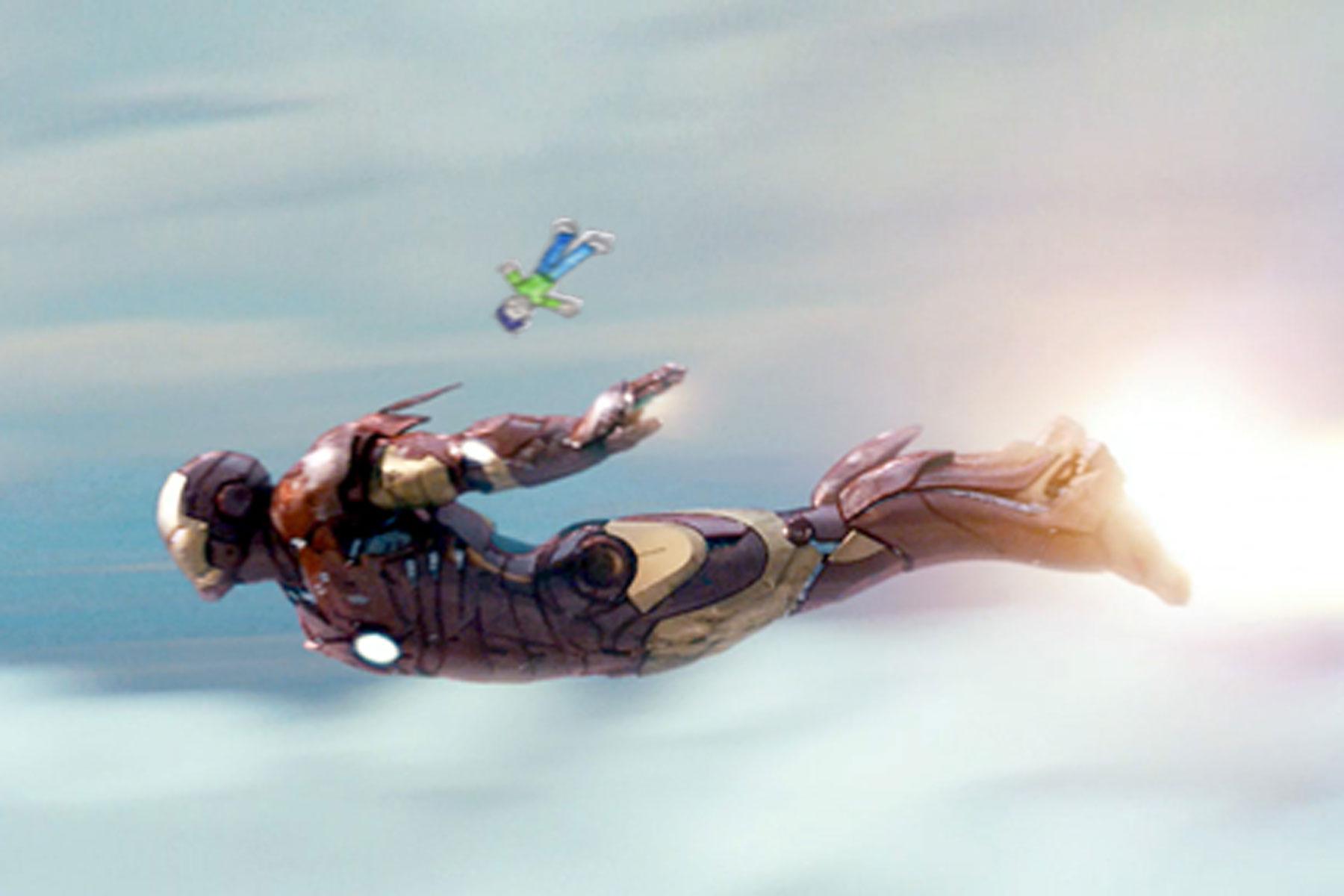Bug Martini 12 Blake Flies With Iron Man