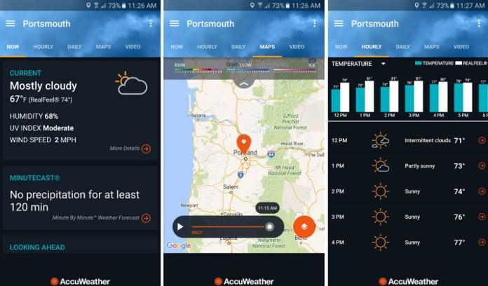 Accuweather App widget de Clima: confira os 15 melhores para o seu Android