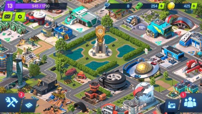 Overdrive City Simulador de Fabricação de Carros