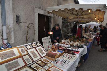 exposition marché de Noël Fête de la Bugne