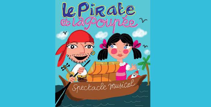Le Pirate et la Poupée spectacle enfants samedi 01/12 14h00